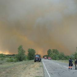 У Мінекології України стверджують, що радіаційної небезпеки через пожежу на ЧАЕС немає