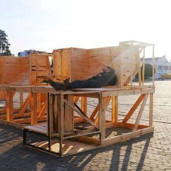 Європейський парк у Славутичі: меблі, велопаркінг та підзарядки (фото)