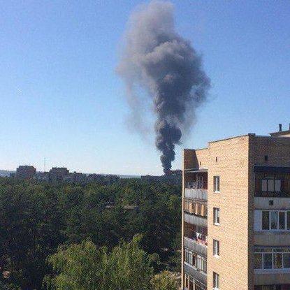 У Підмосков'ї вибухнув Інститут ядерної фізики (ФОТО)