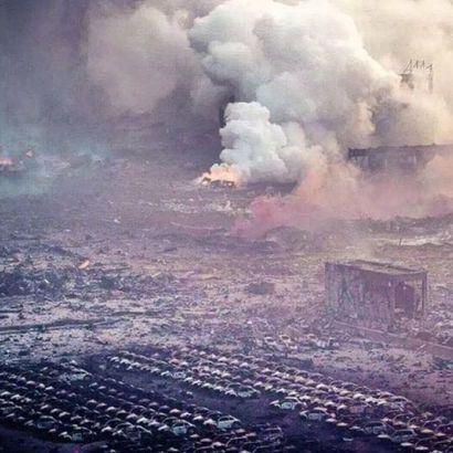 Потужність вибуху в Китаї склала 21 тонну в тротиловому еквіваленті