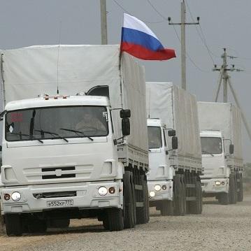 Черговий гумконвой від РФ дістався Макіївки і Луганська