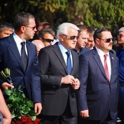 В мережі з'явилися фото з похорон Єремеєва (фото)