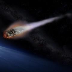 Наскільки великим має бути метеор, щоб долетіти до Землі?