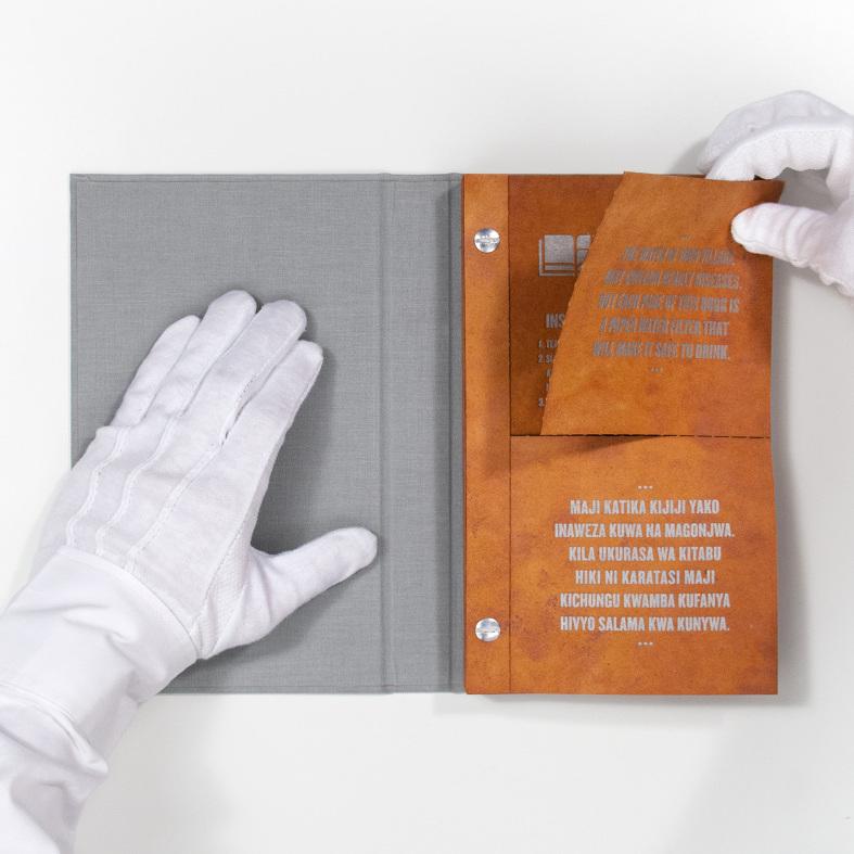 У США вчені створили унікальну книгу для очищення води
