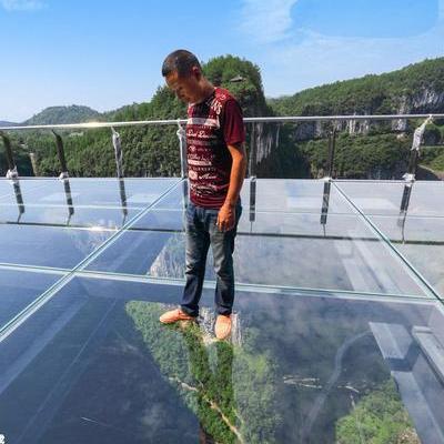 У Китаї відкриється найбільший в Азії оглядовий майданчик зі скла (фото)