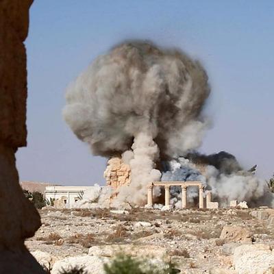 """Бойовики """"ІД"""" виклали фото знищення храму в Пальмірі"""
