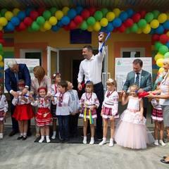 Кличко відкрив новий дитсадок у Солом'янському районі столиці