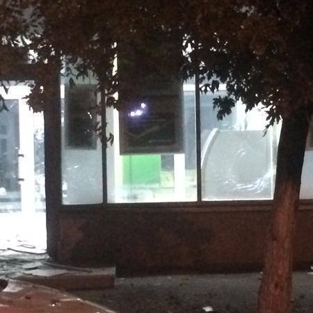 У міліції прокоментували нічний вибух біля відділення банку