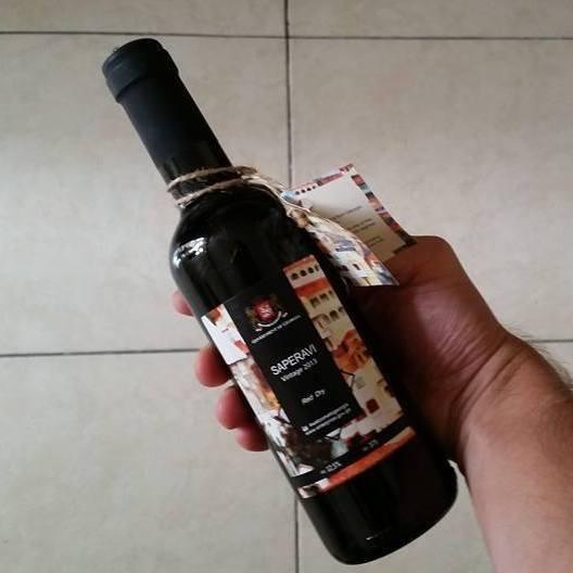 У Грузії на паспортному контролі дарують пляшку вина
