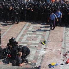 Правоохоронці затримали чоловіка, що кинув гранату у міліціонерів