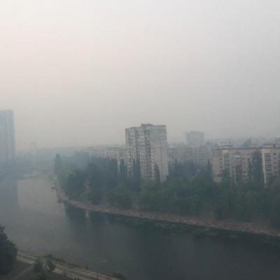 Київ затягло ядовитим димом: як зберегти в ці дні своє здоров'я