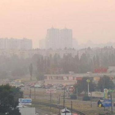 Київська СЕС зафіксувала перевищення концентрації шкідливих домішок у повітрі в 18 разів