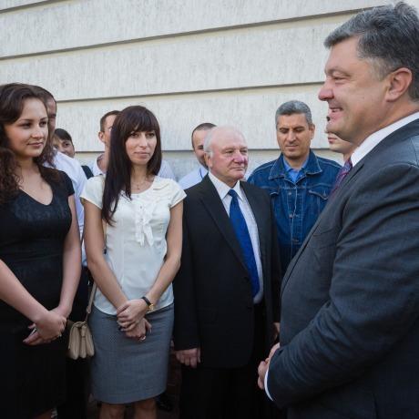 Президент розповів про європейський підхід до оновлення державних інститутів