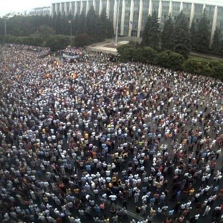 Антиурядові мітинги набирають обертів у столиці Молдови (фото та відео)