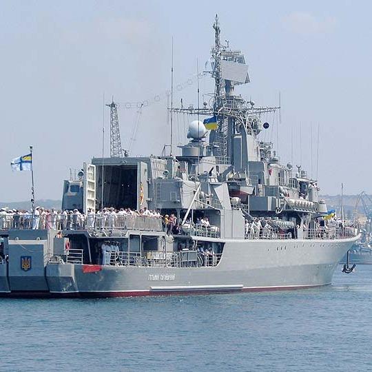 ВМС України довелося відганяти російські кораблі від Одеси