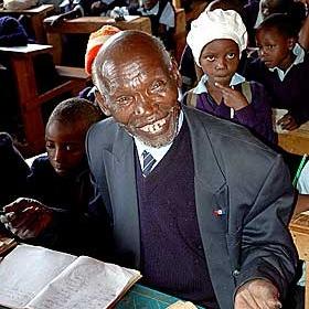 У Нігерії помер найстаріший школяр у світі