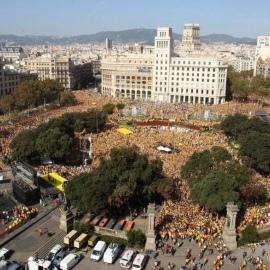 Протестна хвиля дійшла до Іспанії: Каталонія вимагає незалежності (фото)