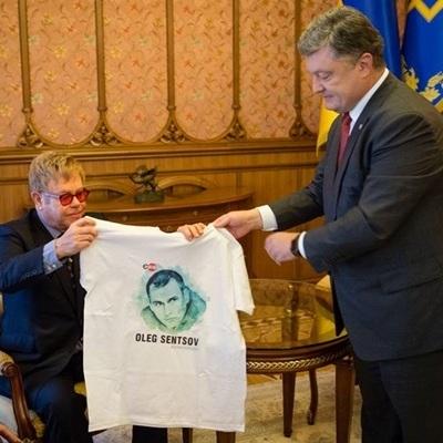 Елтон Джон зустрівся з Президентом