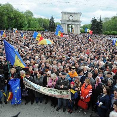 """""""Майдан"""" у Молдові: народ висловив недовіру уряду"""