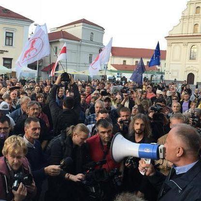 Білоруси виступили проти Лукашенка