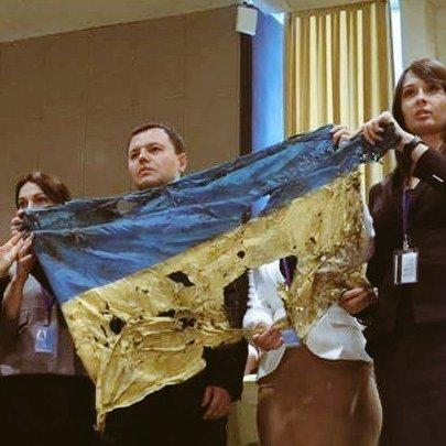 За порушення регламенту українських активістів попросили покинути Генасамблею ООН