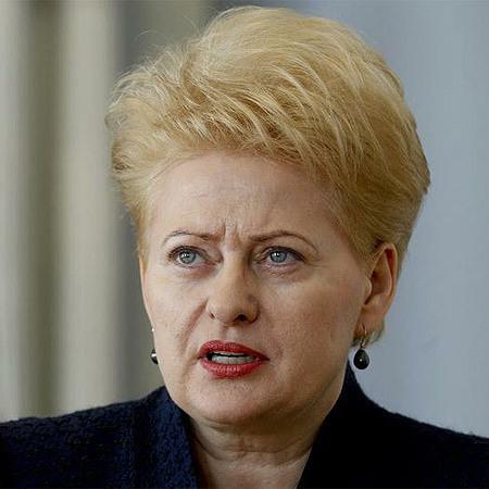 Даля Грібаускайте виступила з різкою промовою проти російської агресії