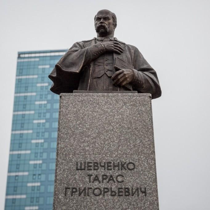 У Новосибірську встановили пам'ятник Тарасу Шевченку