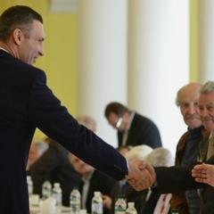 У Кличка знову виділили матеріальну допомогу пенсіонерам і ветеранам Києва