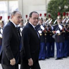 Путін у Франції отримав три умови