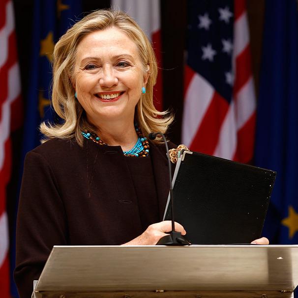 Хіларі Клінтон продемонструвала американцям відмінне почуття гумору (відео)
