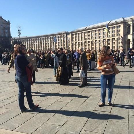 На Майдані зібралося Віче пам'яті