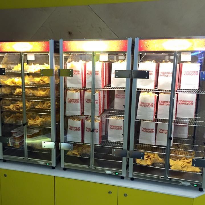 В Києві відкрився перший в Україні кіномаркет (фото)