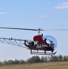 Українські конструктори продемострували вітчизняний вертоліт (фото)