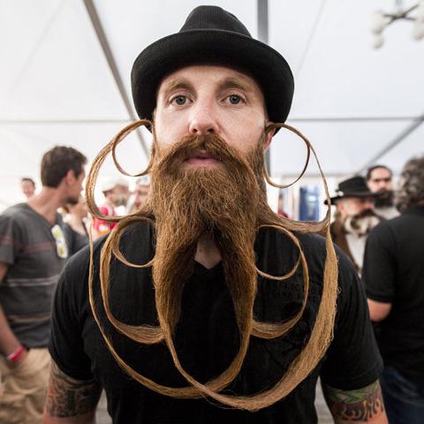 Чемпіонат світу борід та вусів вразив глядачів (фото)