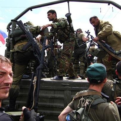"""Терористи роззброюють батальйон """"Восток"""""""