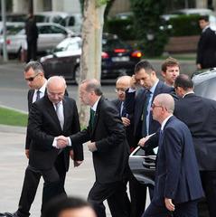 Охорона президента Туреччини побилася в Брюсселі з поліцією Бельгії