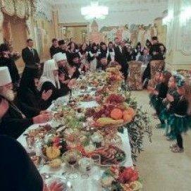 У Ростові скасували обід за півмільйона рублів для патріарха Кирила через розголос