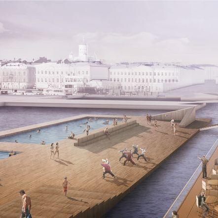 У центрі столиці Фінляндії з'явиться ще одна пам'ятка - басейн з морською водою