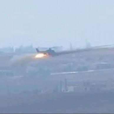 The Daily Mail показала кадри обстрілу Сирії російськими вертольотами (ВІДЕО)