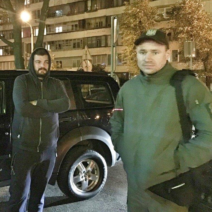 Данила Корчинського затримала патрульна поліція (фото)