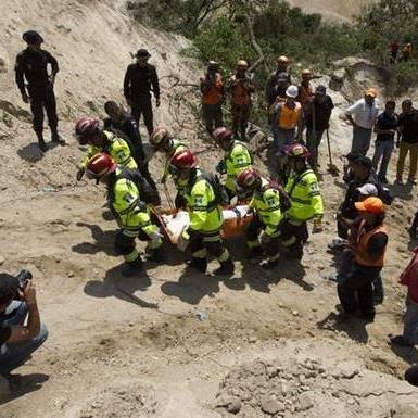 У Гватемалі внаслідок зсуву загинуло понад півтисячі людей
