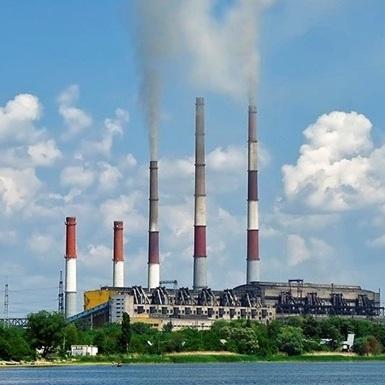 Зміївська електростанція відновила роботу після тривалої перерви