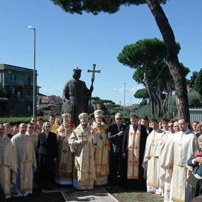 У Римі відкрили пам'ятник князю Володимиру Великому (ФОТО)