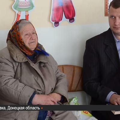 Ветеран УПА зустрівся зі школярами Слов'янська  (ВІДЕО)