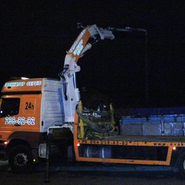 У Києві закінчилися штрафмайданчики, куди звозять демонтовані МАФи