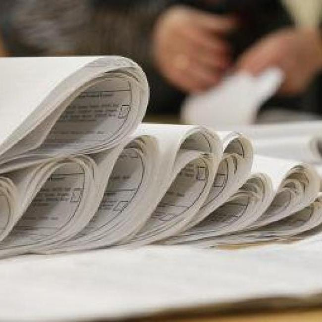 Чинний мер Коростеня, що на Житомирщині, надрукував себе у виборчих списках більшим шрифтом