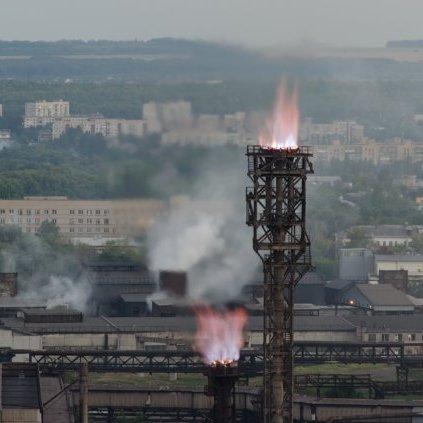 Працівники Донецького металургійного заводу говорять про повну зупинку підприємства