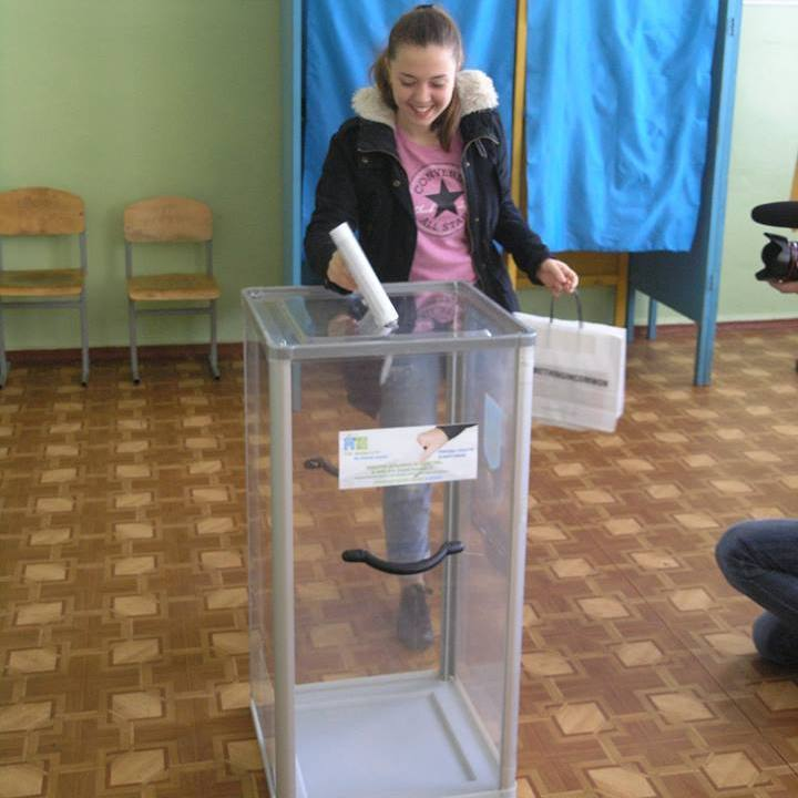 У Києві пройшли дитячі вибори голови КМДА (фото)