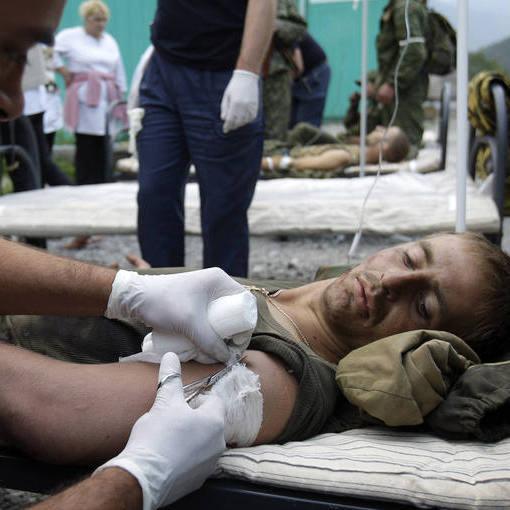 Під Широкіним поранили двох військових