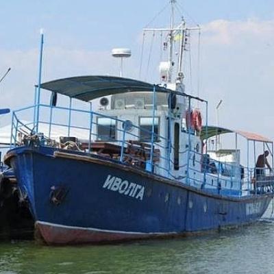 З'явилося відео затонулого на Одещині катера (ВІДЕО)